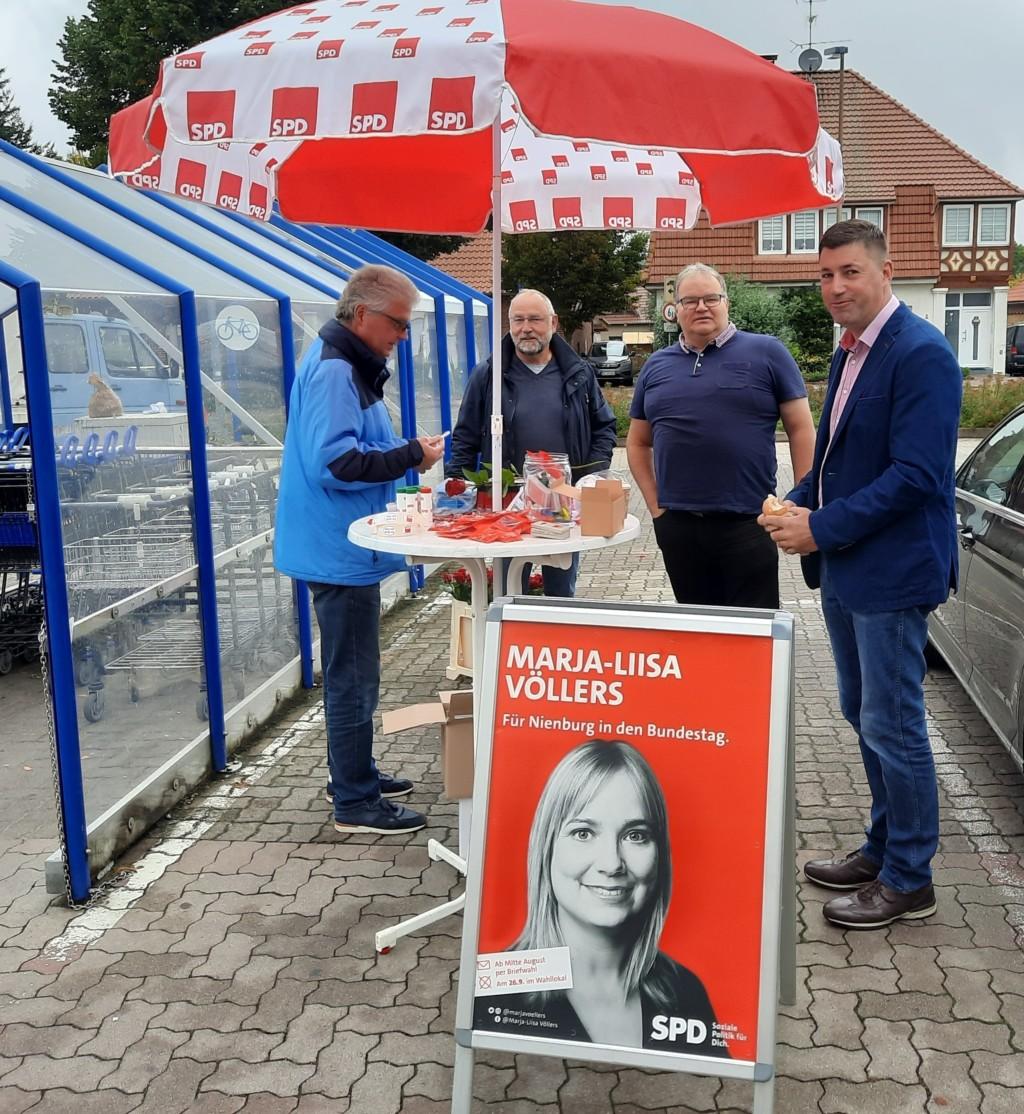 SPD-Infostand