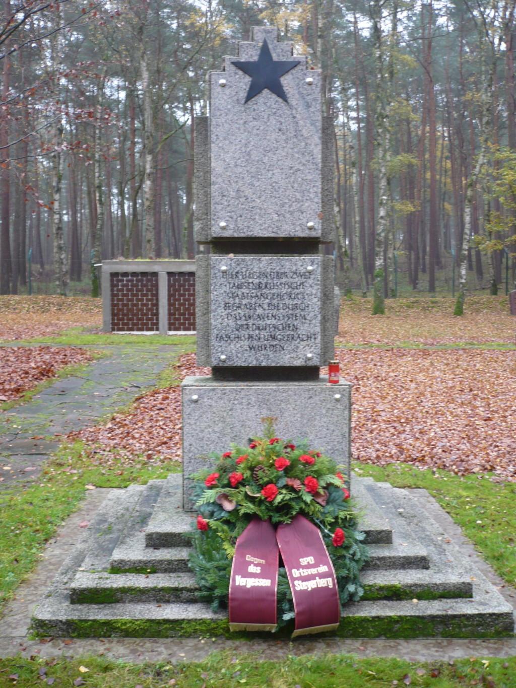 Volkstrauertag Gedenkstätte