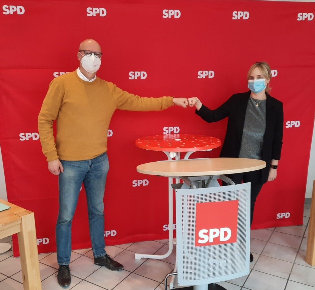 Ralf Thäsler und Marja-Liisa Völlers